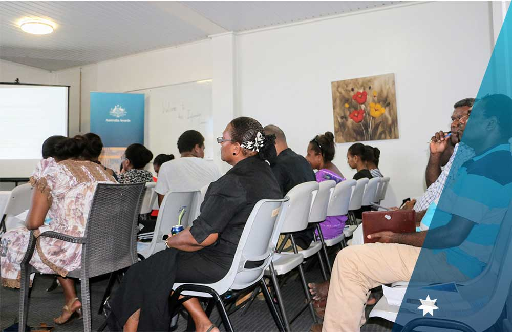 Participants attending the information session on 15th March 2018.