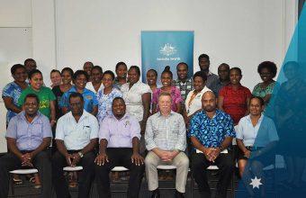 AAV Alumni learn about the National Human Resource Development Plan