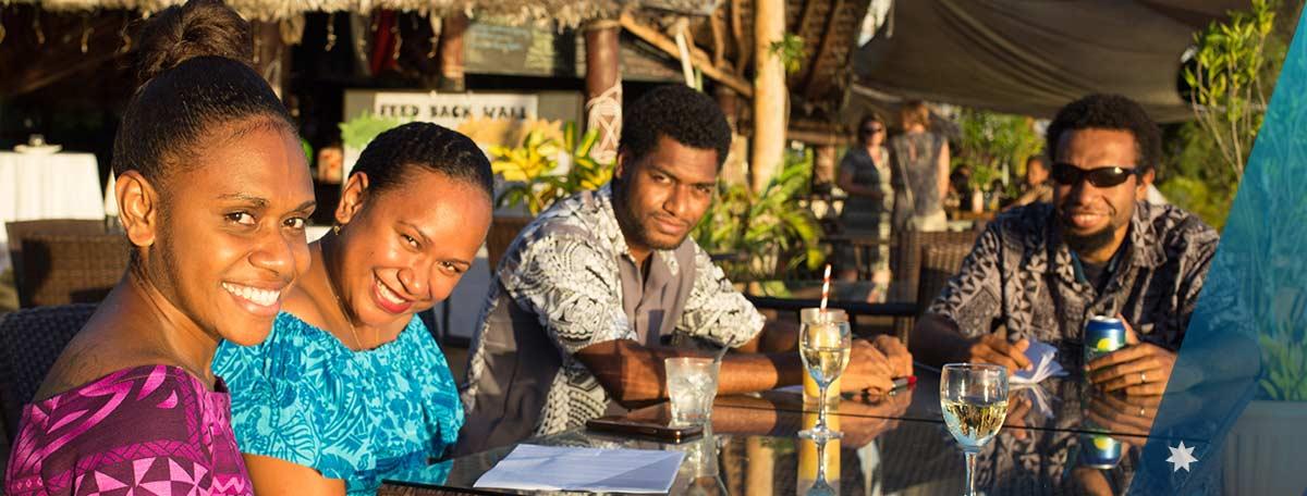Australia Awards Alumni in Vanuatu during 2018 Annual Alumni Network Event