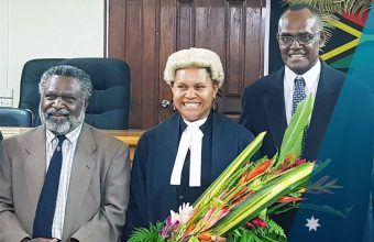 Australia Awards Vanuatu Alumni  Viran Molisa-Trief, Vanuatu's first ever Ni-Vanuatu female judge of the Supreme Court
