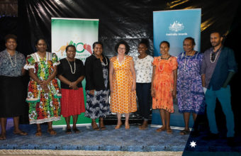 Australia Awards Alumni celebrate 40 years of friendship between Australia and Vanuatu